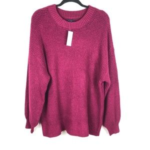 NWT American Eagle purple knitted sweater